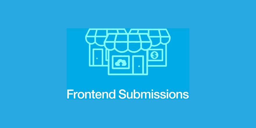 افزونه frontend submissions